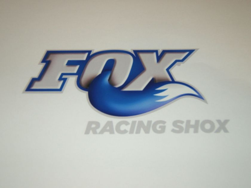 FOX RACING SHOX MOTOCROSS MOUNTAIN BIKE BMX ATV QUAD SNOWMOBILE DECAL