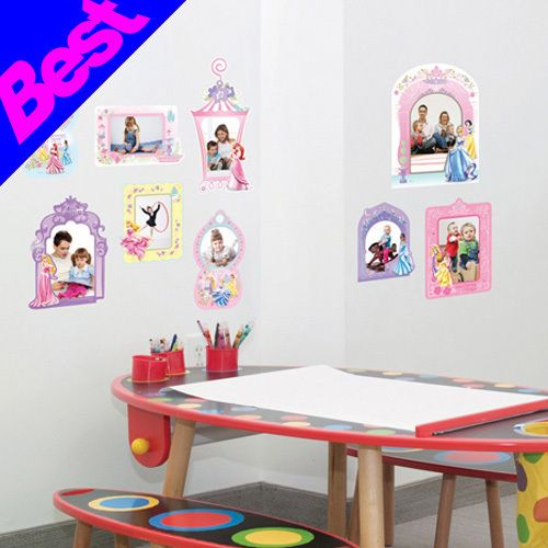Princess Photo Kids Room Girls Wall Stickers Decals
