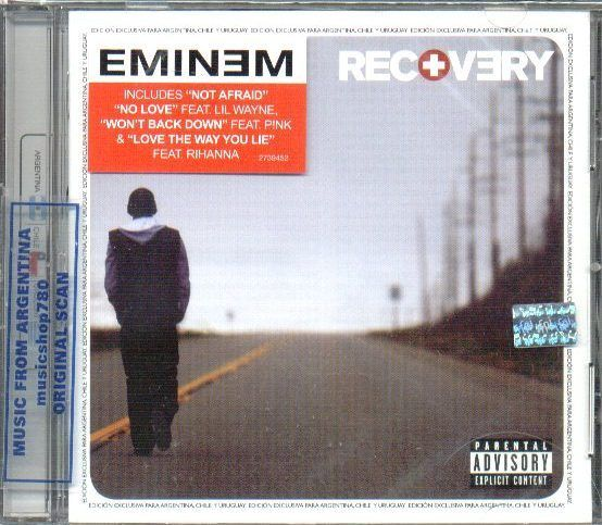 EMINEM, RECOVERY. FACTORY SEALED CD. In English.