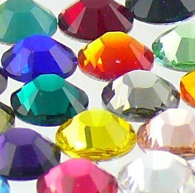 /2058 5ss crystal flatback rhinestones nail art ss5 mix colors