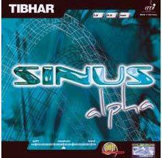 SHIP) TIBHAR SINUS ALPHA Table Tennis Rubber Ping Pong Racket